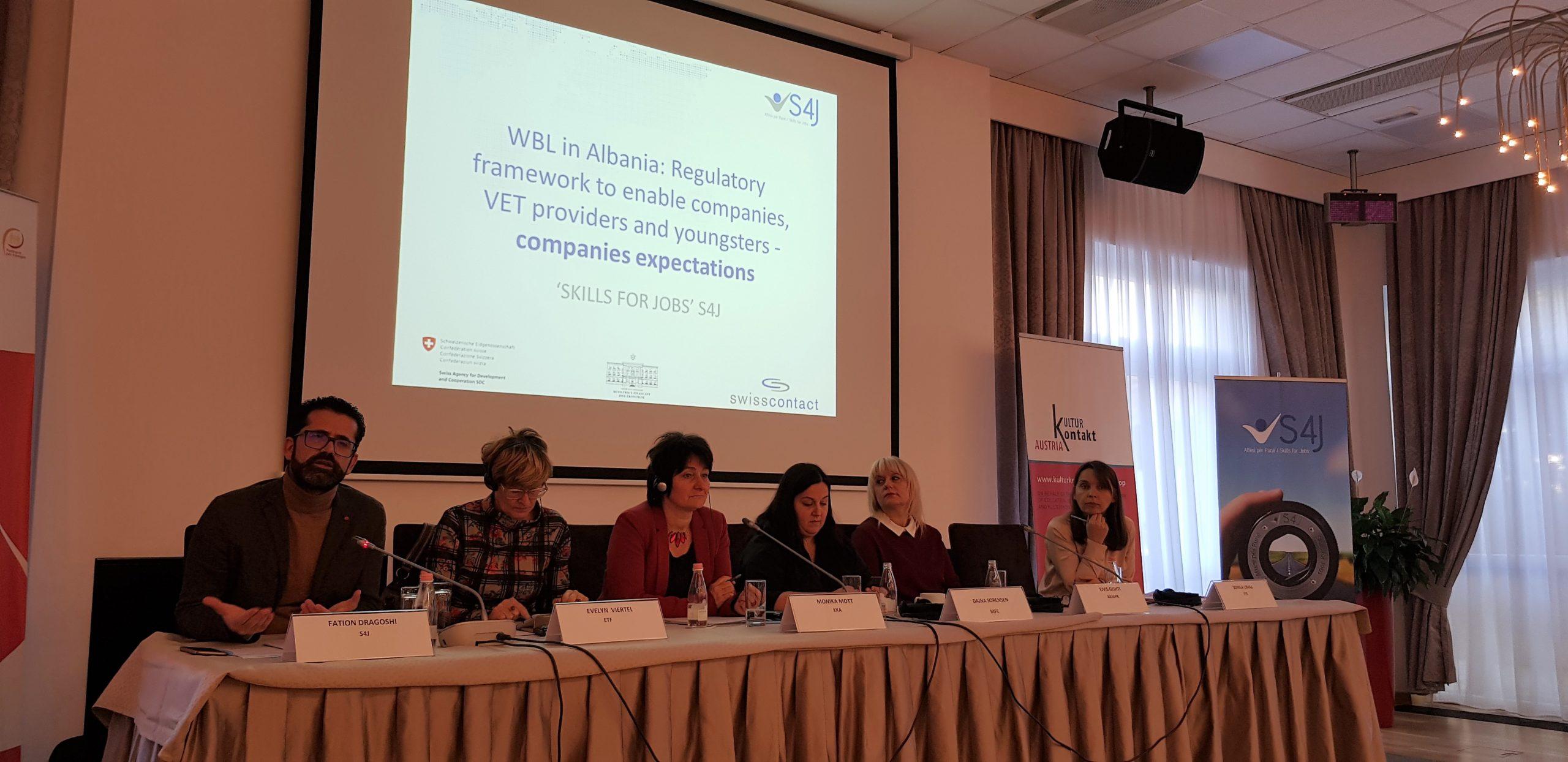 Një hap më shumë për Të Nxënit Nëpërmjet Punës në Shqipëri