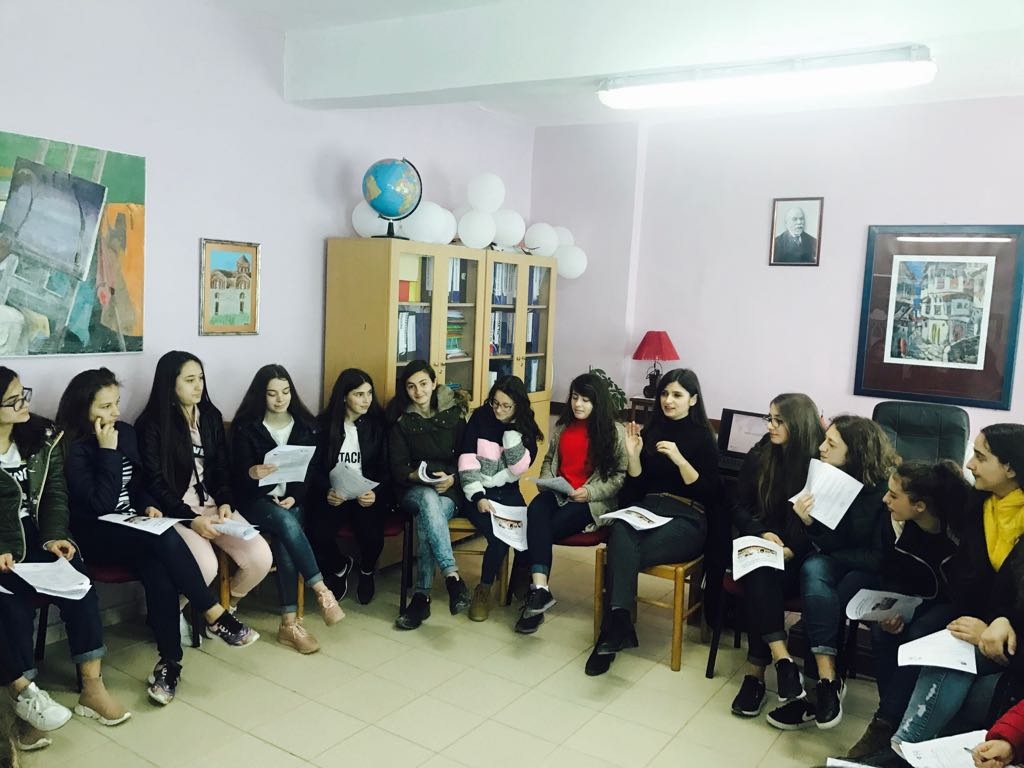 "BEHOLD THE FEMINISATION OF THE VOCATIONAL EDUCATION IN ALBANIA: ""MEET EVERY GIRL"" CAMPAIGN"