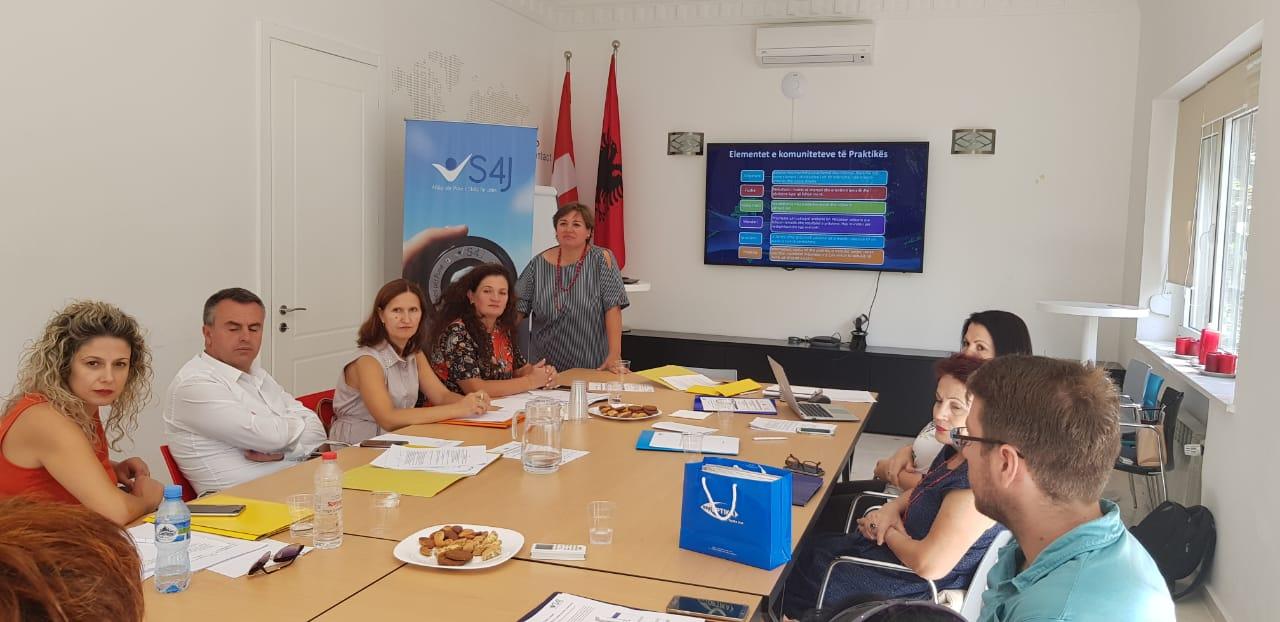 'Skills for jobs' (s4j) supports communities of practice among vet teachers