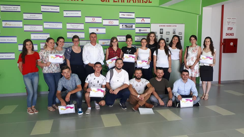 'TRAINING OF TRAINERS' COURSES ON WEBMASTER AND GRAPHIC DESIGN COMPLETED SUCCESSFULLY IN VLORA AND LEZHA