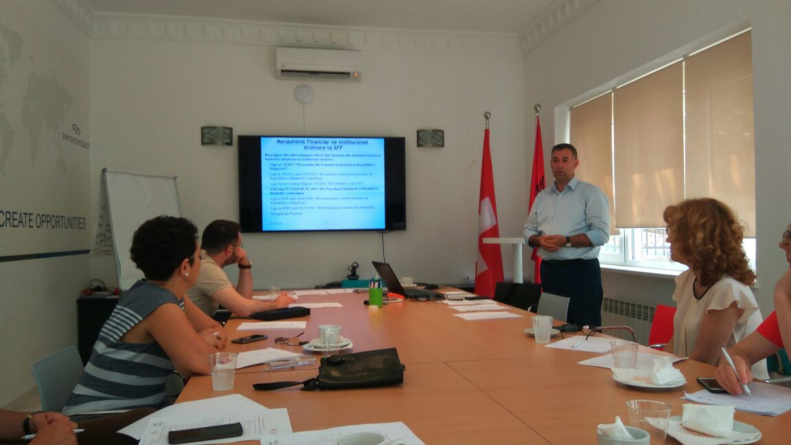 VOCATIONAL SCHOOLS TOWARDS A MORE EFFECTIVE MANAGEMENT OF FINANCIAL RESOURCES