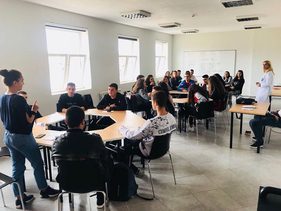 Field visit in vocational 'Hamdi Bushati' school in Shkodra