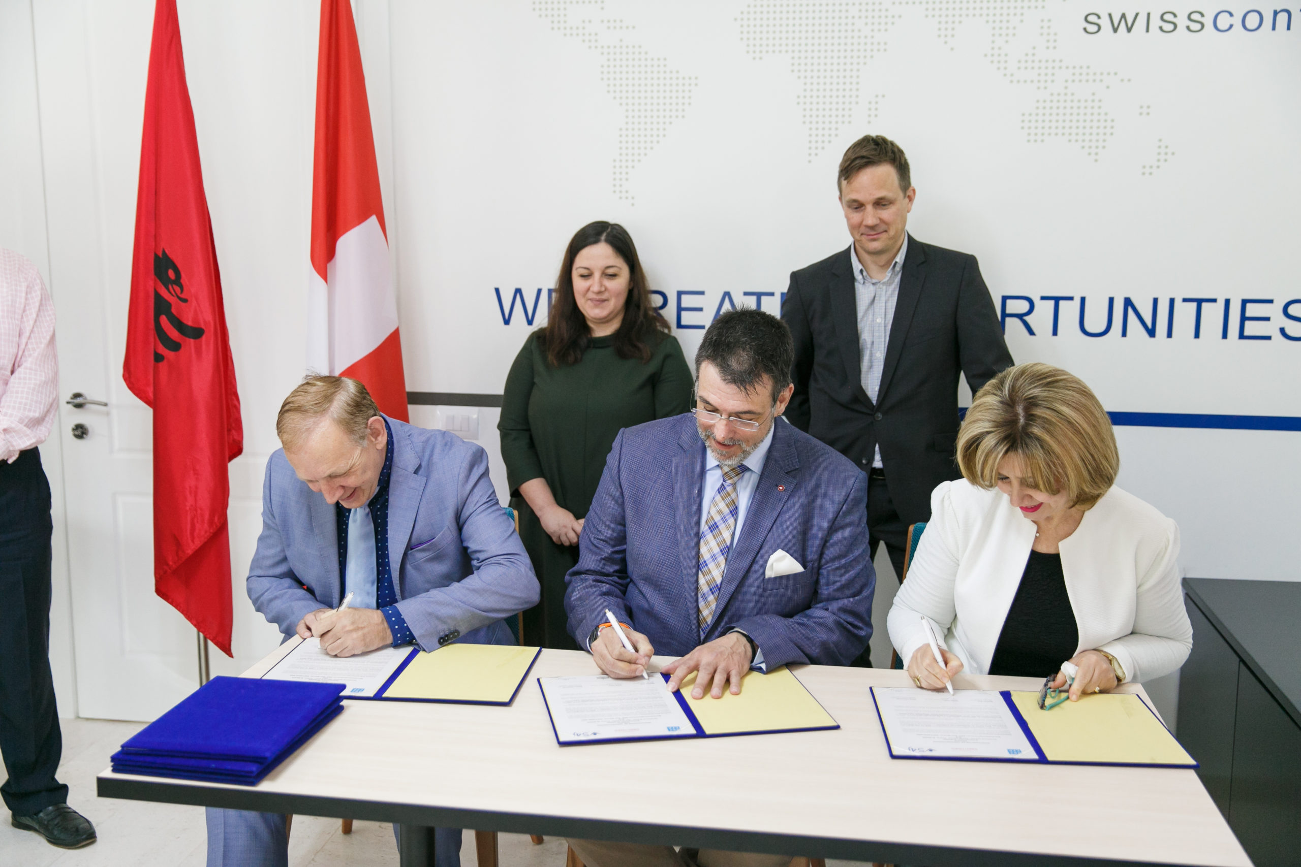 NEW COLLABORATION BETWEEN ALBANIAN AND SWISS SCHOOLS