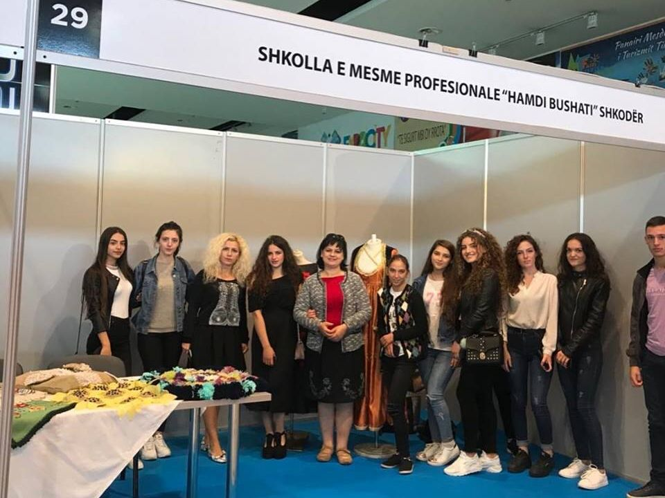 ''Hamdi Bushati' school and business partners participate in sippo value-added textile mission