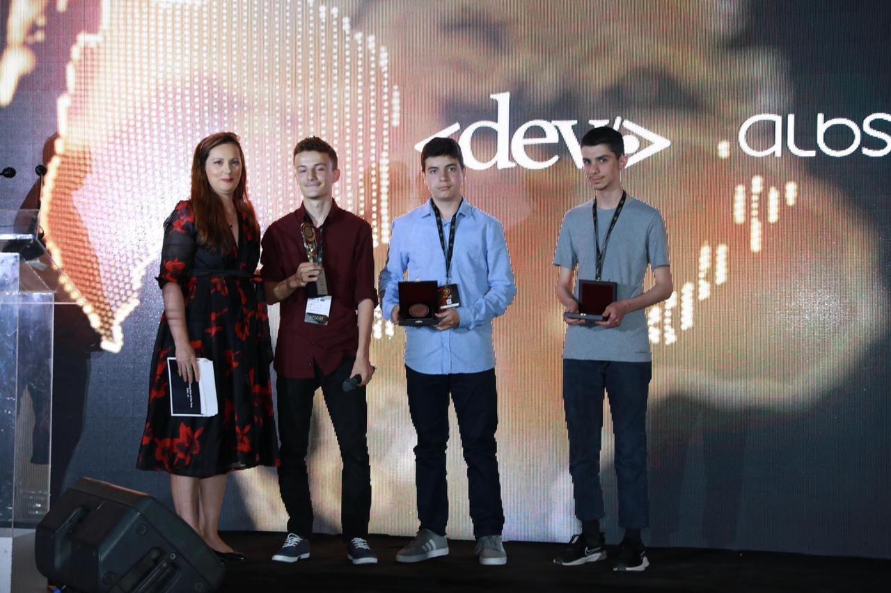 Vocational 'Gjergj Canco' School: Champion of Innovation at the ICT Awards